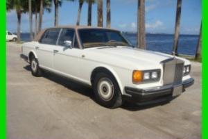 1989 Rolls Royce Silver Spur 15K MILES UNMOLESTED ORIGINAL NOT RESTORED STUNNING