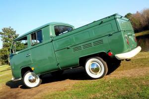 1970 VW Double Cab Crew Cab Pick Up Truck Bay Window