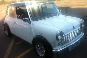 1992 ROVER (AUSTIN, CLASSIC) MINI WHITE ABSOLUTELY STUNNING FULLY RESTORED