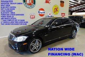 08 S63 AMG,PANO ROOF,NAV,BACK-UP,NIGHT VISION,HTD/COOL LTH,AMG WHLS,1KWE FINANCE
