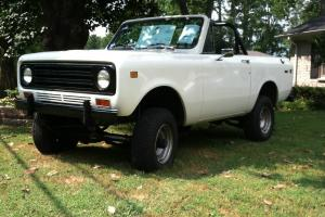1972 International Scout II Base Sport Utility 2-Door 5.7L Photo