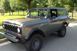 1980 International Scout II Base Sport Utility 2-Door 3.2L