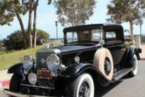 1931 Cadillac 370-A 2-Door Rumble Seat Coupe V-12