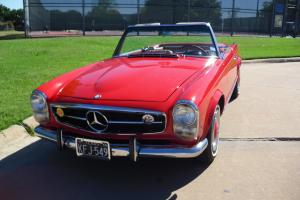 Mercedes 230SL, W113, Pagoda, 1966, Excellent condition, both tops