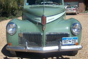 1941 Studebaker Champion 2-tone. Many photos. Photo