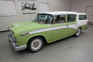 "VERY,VERY ""RARE"" !!!...1956 Hudson Rambler Custom ""Country Club"" Wagon !!"