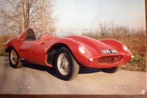 Tojeiro Bristol 1954 Barchetta Mille Miglia Ferrari Red and Jaguar D Type C Type