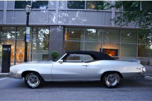 1971 Buick Skylark Convertible 350 Frame on Restored
