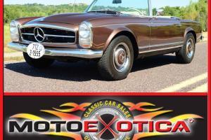 1966 MERCEDES BENZ PAGODA 230SL, FUEL INJECTED 2.3L, MANUAL, FACTORY HARDTOP