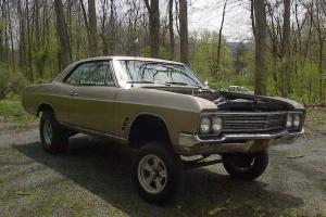 1966 Buick Skylark Nailhead Gasser Streetfreak Hot Rod Straightaxle