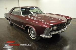 1963 Buick Riviera 401 V8 Automatic PS PB Dual Exhaust Console Tilt LOOK AT THIS
