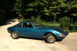1972 Opel Gt Coupe Photo