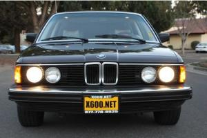 1986 BMW L7 Automatic 4-Door Sedan