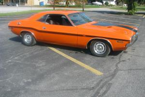 1970 Dodge Challenger R/T Vitamin C Orange 383 Automatic