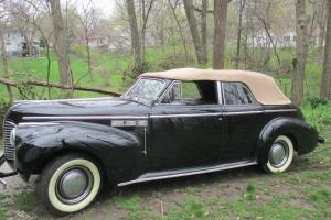 1940 Black Buick Super Convertible