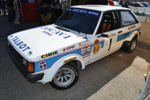 Talbot Sunbeam Lotus Ex Zanini National 82 rally Champion works no escort GR B A