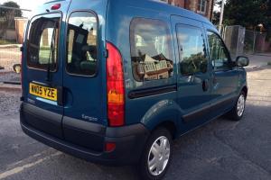 RENAULT KANGOO AUTHENTIQUE 16V BLUE 12,000 MILES 05 plate auto