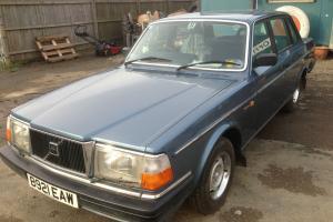 1984 VOLVO 240 GL S/R BLUE 38000 genuine miles full 12 months MOT