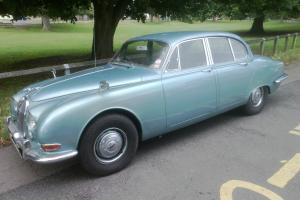 Jaguar S Type Classic Car, Automatic. Blue, 1965