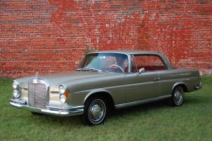 1964 Mercedes 220SEb Coupe W111 in DB462 Beige*/Red, Automatic, BECKER, timeless