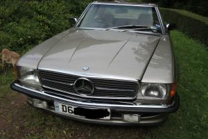 mercedes 300sl 1987 sports car