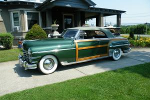 1949 Chrysler  New Yorker Town and Country Woody Convertible