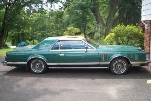 Lincoln is Emerald Green, Emerald Green velour interior, Excellent cond.