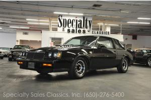 1986 Buick Regal Grand National two door coupe