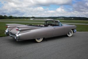 1959 Eldorado Biarritz Bucket Seats  VIEW AT HERSHEY - AIR RIDE - MOVIE CAR
