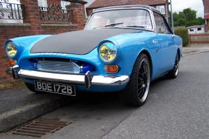sunbeam alpine gt/ fitted with ford rs turbo engine retro car 1964