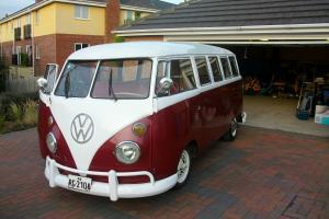 VW camper van split screen 1974 15 Window Bus
