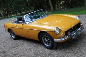 MGB ROADSTER TAX EXEMPT  Photo