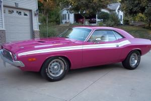 1972 Dodge Challenger panther pink very nice shape