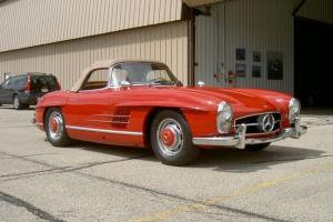 1957 Mercedes Benz 300SL Roadster meticulously restored