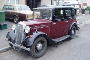 1935 WOLSELEY MAROON/BLACK