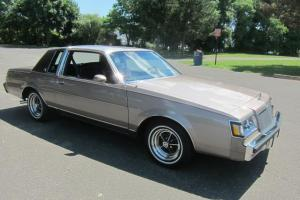 1984 BUICK REGAL LIMITED LEATHER 2000 ORIG. MILES