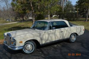 1967 MERCEDES 250SE AUTOMATIC - GREAT CLASSIC MERCEDES COUPE