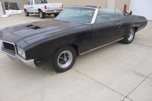 1970 Buick Skylark Triple Black Documented GS Stage One Convertible