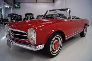 1967 MERCEDES-BENZ 250SL CALIFORNIA COUPE, CALIFORNIA CAR, 41,460 MILES!