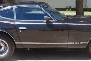 Rare 1978 Limited Edition Black Pearl  Datsun 280Z Original 5 Speed Runs Great