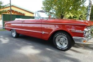 1963 MERCURY COMET CONVERTIBLE S22 73,000 ACTUAL MILES NUMBERS CAR NO RESERVE