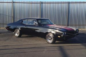 1972 BUICK SKYLARK CUSTOM ABSOLUTELY STUNNING BLACK BEAUTY