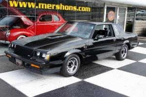 86 Buick Grand National 34k Miles Black with Gray Int