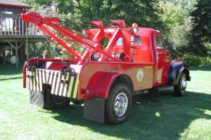 Modified 1947 Studebaker Tow Truck