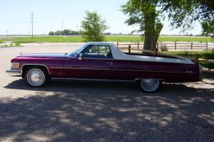 RARE 1975 Cadillac Caribou Pickup, From DeVille Show Car, 500cid Auto, 43k Miles
