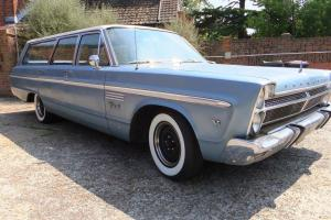 1965 PLYMOUTH BLUE