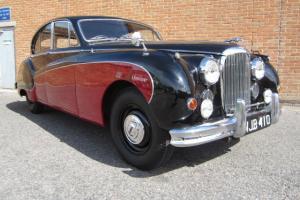 1956 JAGUAR MK VIII RED/BLACK