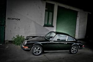Porsche 911E 1970 LHD Factory Black 2.4S FI Engine MOT