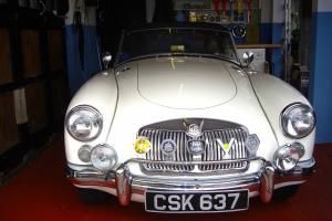 1959 MG A mk1 1600 roadster
