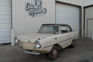 Vert Rare 1964 Amphicar 770 Local Original Owner offered by Gas Monkey Garage